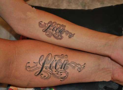 Идеи татуировок - надписи