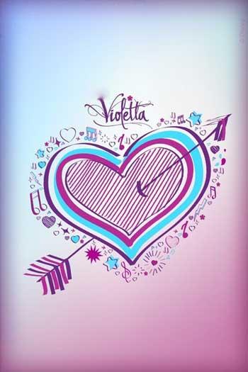 картинки с надписью Виолетта
