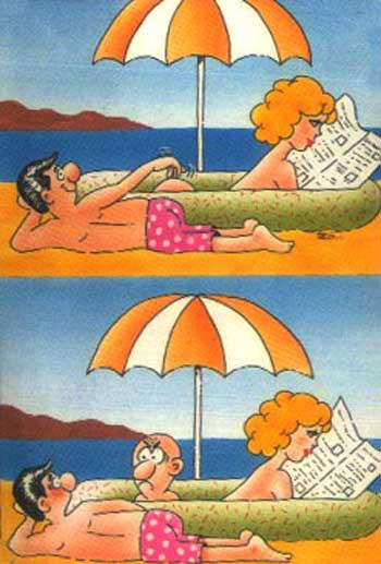 Прикольные картинки - отдых на море
