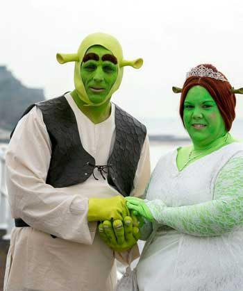 Приколы на свадьбе - фото