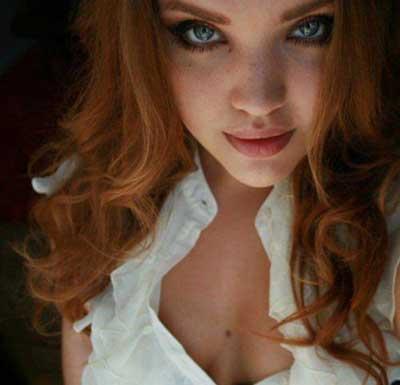 Фото красивых рыжеволосых девушек