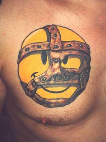Смайлы татуировки