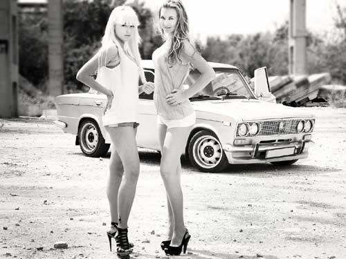 Фото - ВАЗ и девушки
