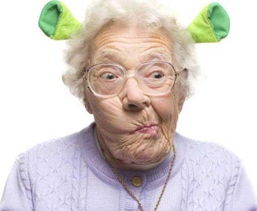 Прикольные статусы про старость