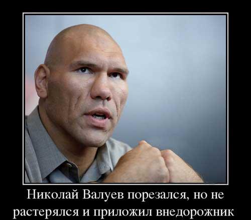 Валуев - демотиваторы