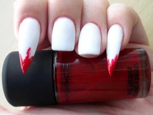 Прикольные нарощенные ногти - фото