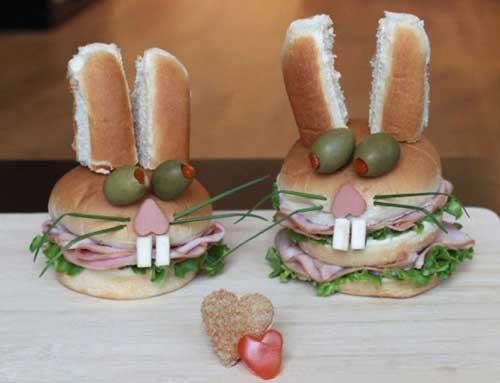 Прикольные бутерброды - фото