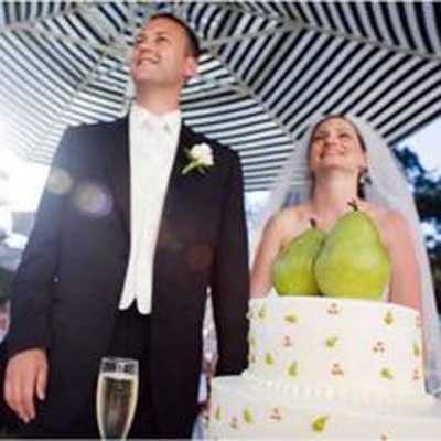 Веселые свадебные фото
