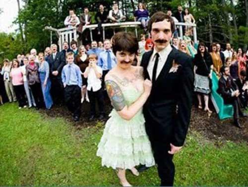Смешные фото невесты