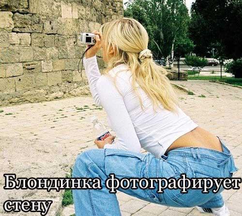 Приколы про блондинок - фото