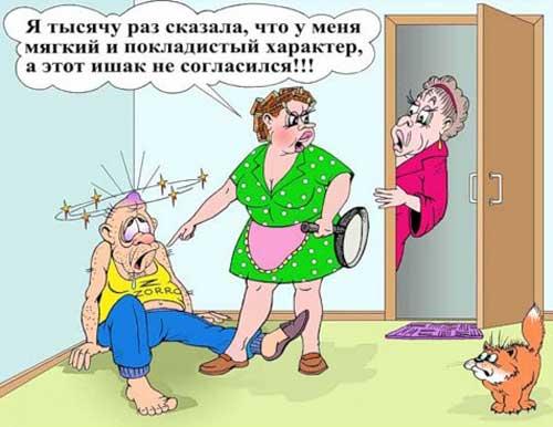 Анекдоты про семью
