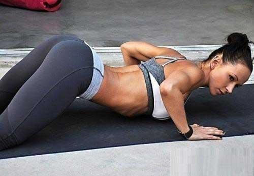 Красивые спортивные девушки - фото