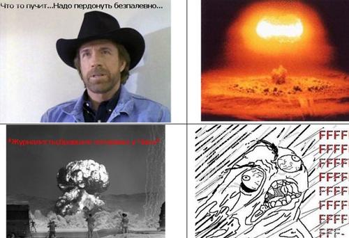 Комиксы с Чаком Норрисом