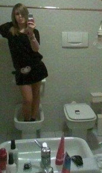 Неудачные фото девушек