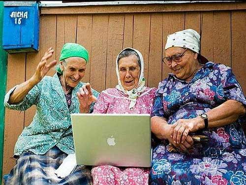 Три бабушки мужик
