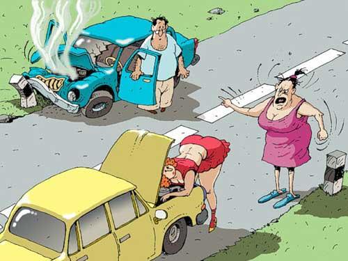 Анекдоты про дороги