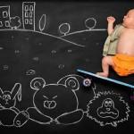 Прикольные фото младенцев