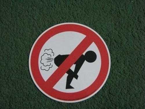 Прикольные запреты в картинках