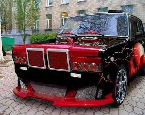 Крутые машины жигули - картинки