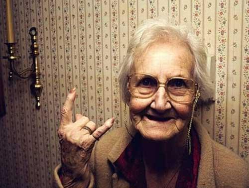 Прикольные поздравления бабуле