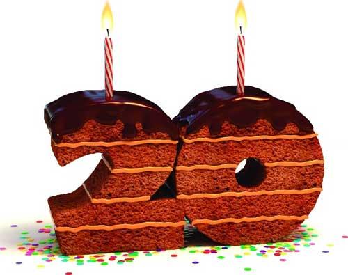 Прикольные поздравления на 20 лет