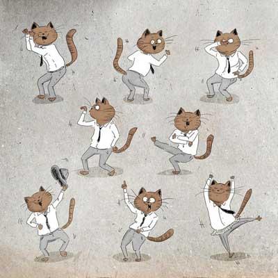 Смешные картинки про танцы