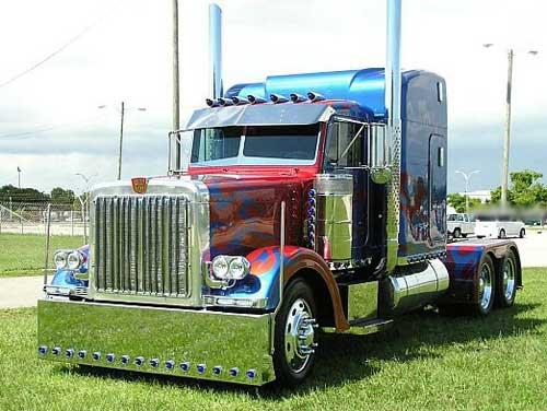 Крутые грузовики - фото
