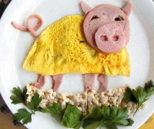 Смешные блюда - фото