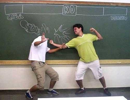 Смешные школьники - фото