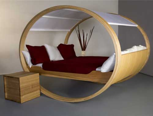 Оригинальные кровати - фото