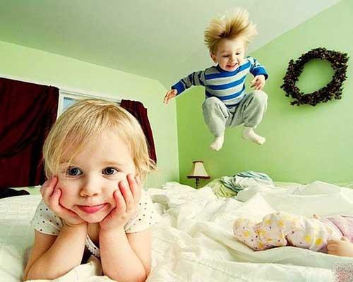 Смешные статусы про деток